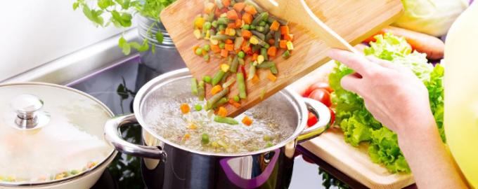 сколько варить овощи