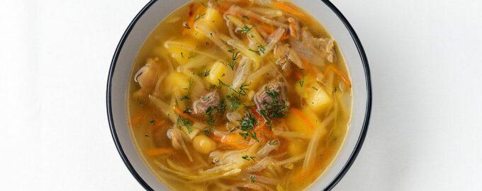 Домашний капустный суп