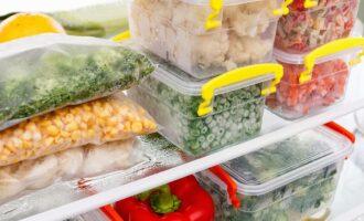 Как заморозить и хранить овощи