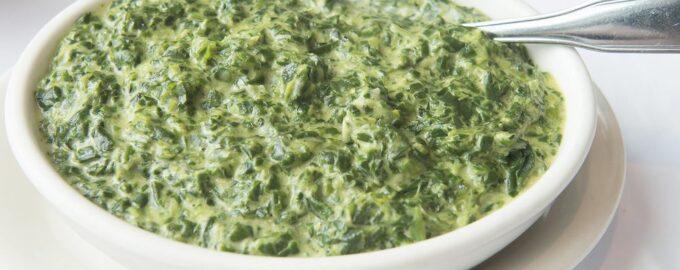 Соус из шпината для различных блюд