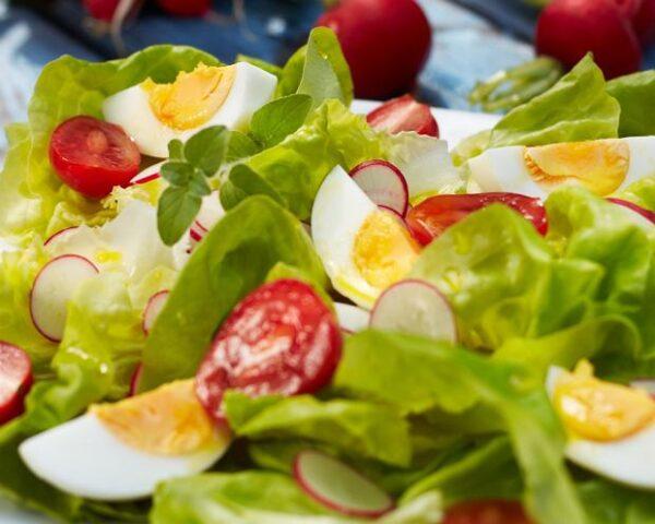 kress salat s rediskoj