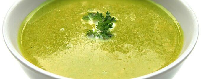 Крем суп из огурцов