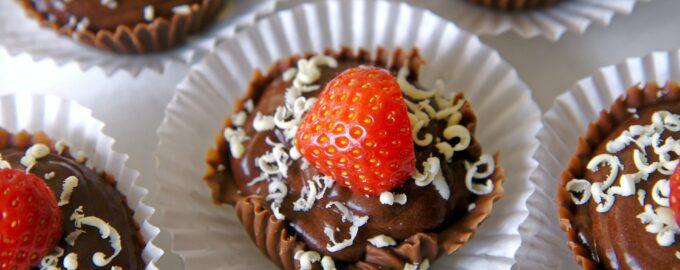 кексики шоколадные рецепт