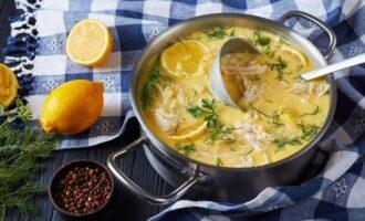 Лимонный суп