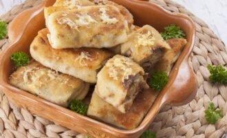 Пирожки с грибами