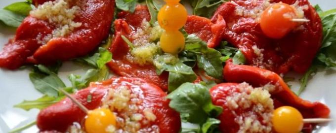 салат из перцев