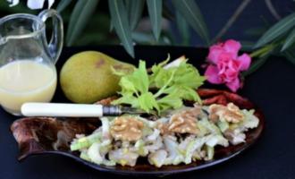 салат из сельдерея и груши