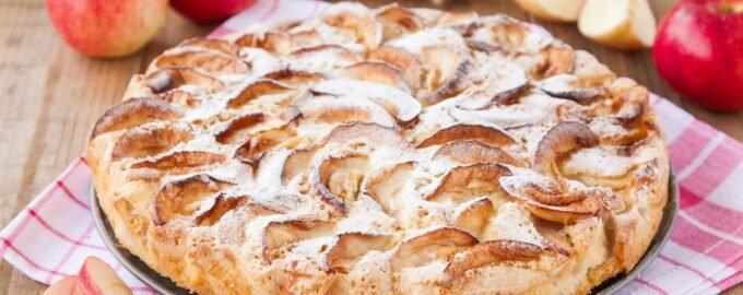 Яблочный пирок