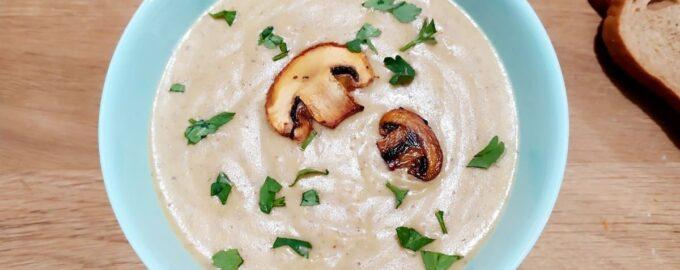 gribnoj sup pyure iz shampinonov foto