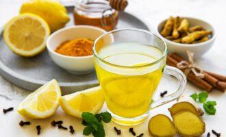 Настойка мед и лимон
