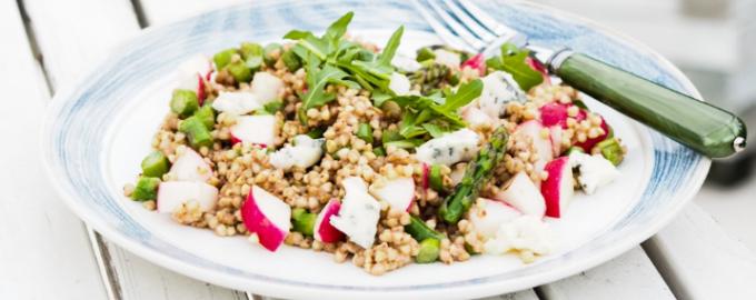 Салат из гречневой каши