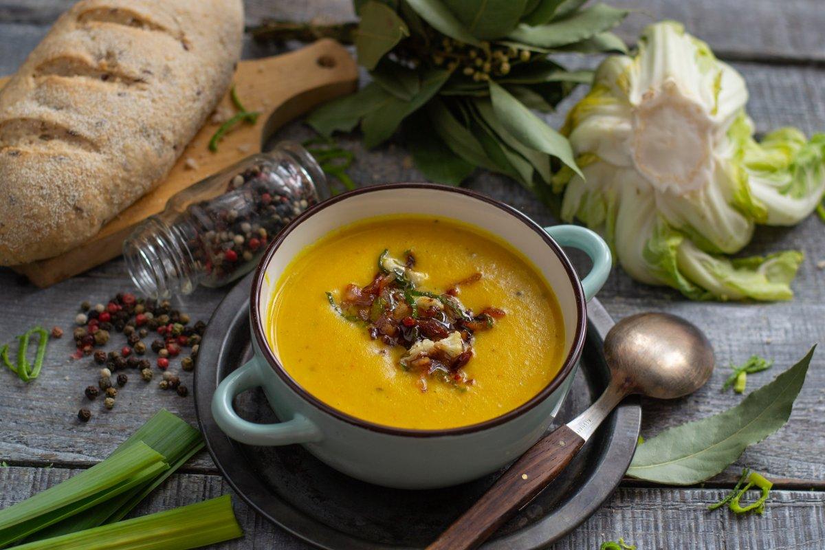Рецепт супа пюре из капусты