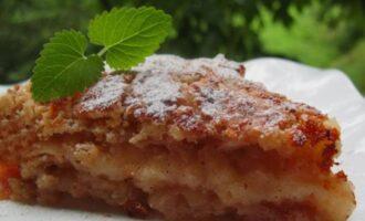 насыпной болгарский пирог
