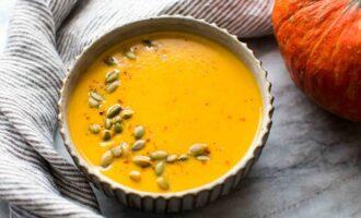 тыквенный крем суп 2