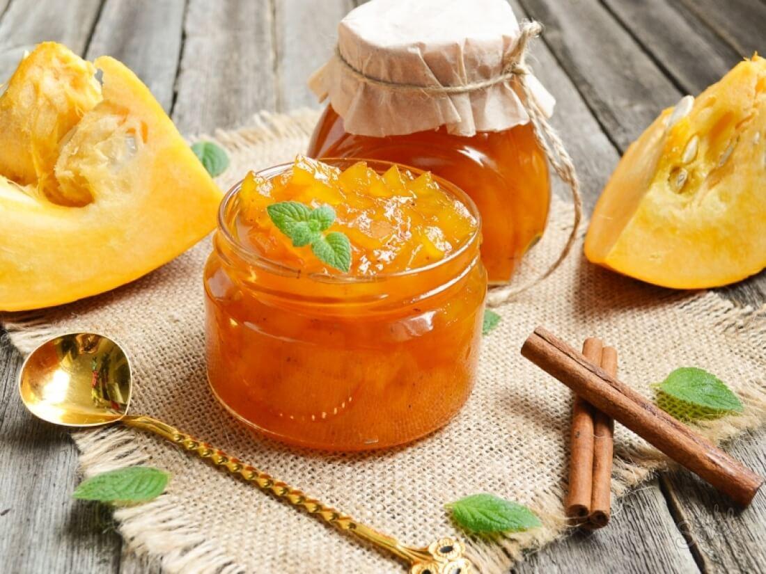 Варенье из тыквы кусочками с апельсином